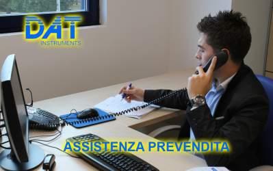 DAT instruments, servizi, Assistenza prevendita