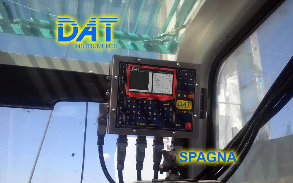 DAT instruments Spagna 2018 Datalogger CFA JET 4000 AME J MC