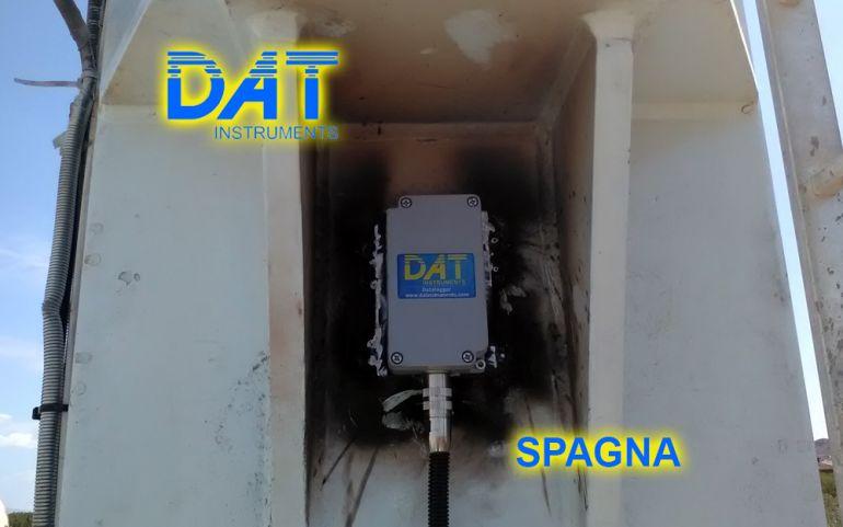 DAT instruments Spagna 2018 Datalogger CFA JET INCL XY inclinometro
