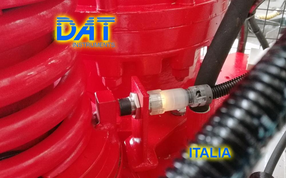 DAT instruments, datalogger, JET SDP IB, JET ROT, sensore di velocità di rotazione dell'asta