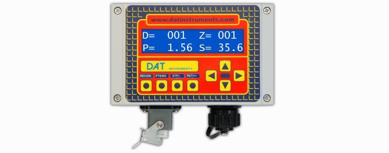 DAT instruments JET SDP IB datalogger economico per CFA (pali ad elica continua)