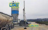DAT TinyLog al lavoro con soil mixing per ampliare una strada in Turchia