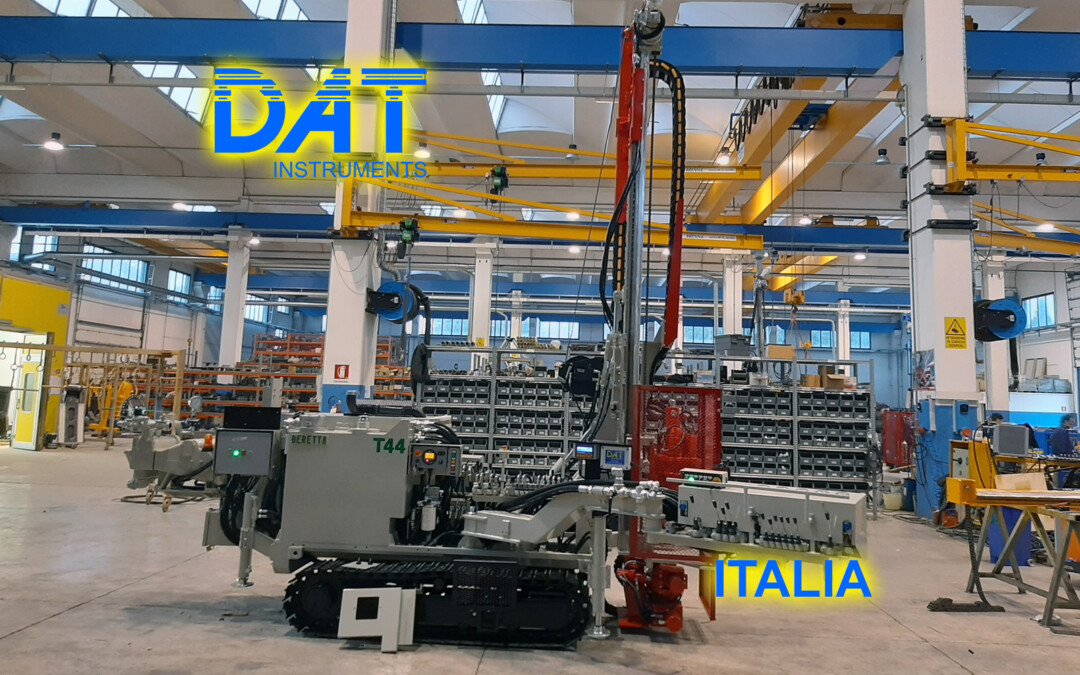 DAT instruments, installazione di un datalogger nella fabbrica di Beretta, JET SDP IB