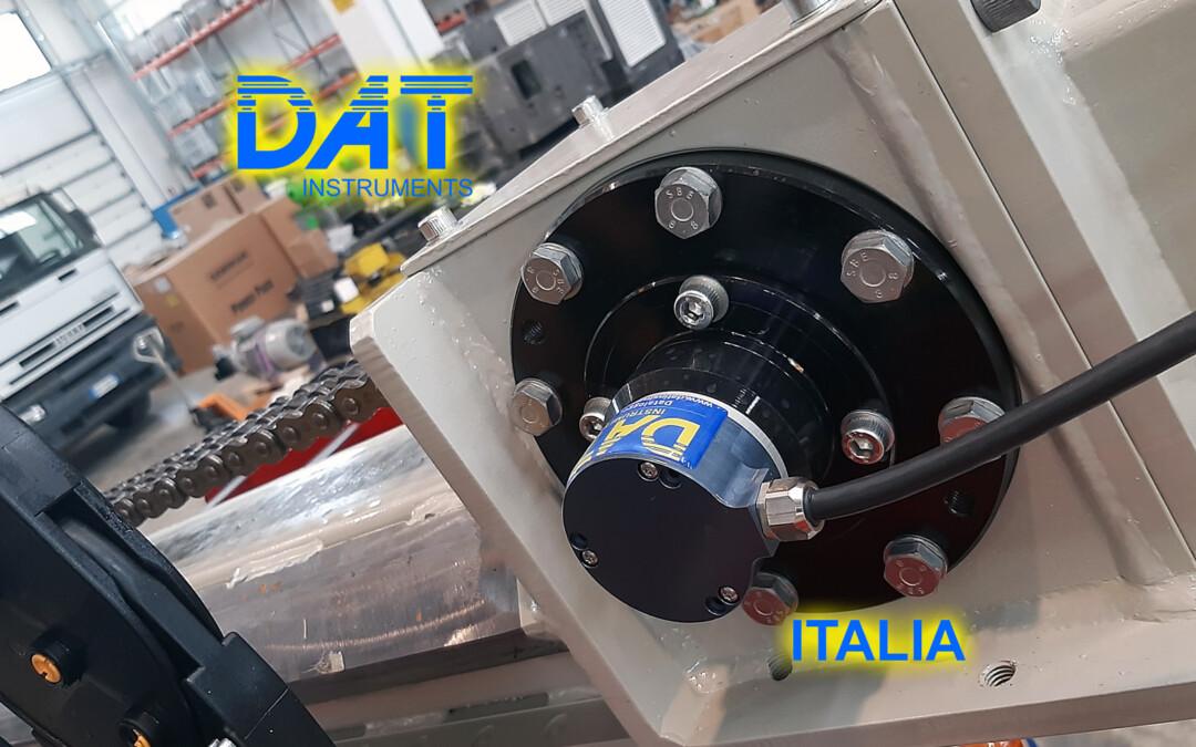 DAT instruments, installazione di un datalogger nella fabbrica di Beretta, JET SDP IB, JET DEPTH, sensore di profondità