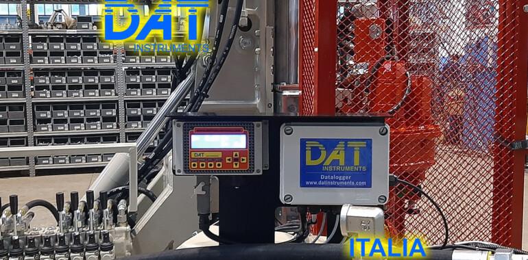 DAT instruments installazione di un datalogger nella fabbrica di Beretta JET SDP IB datalogger per jet grouting