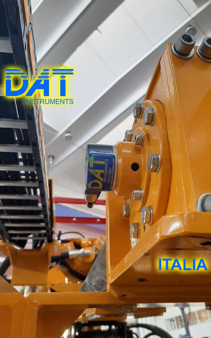 DAT instruments, datalogger JET SDP IB, perforazioni, sensore di profondità, JET DEPTH