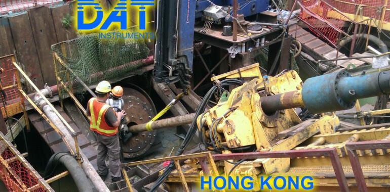 DAT instruments, perforazioni orizzontali, JET 4000 AME J, DAT TinyLog, Hong Kong