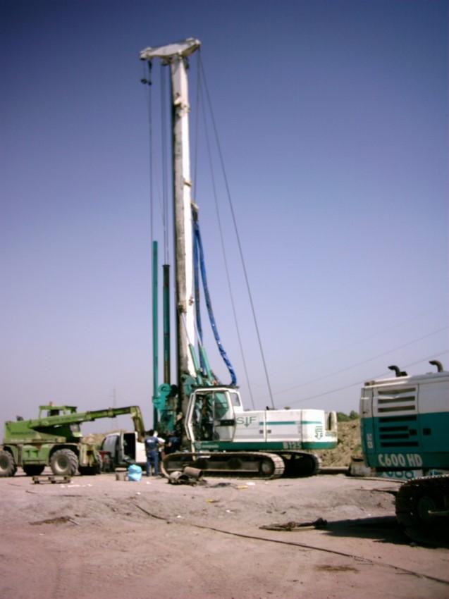 DAT instruments, JET 4000 AME J, deep soil mixing